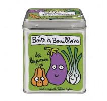 Boîte à bouillons de légumes, Derrière la porte