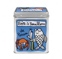 Boîte à bouillons de poissons, Derrière la porte