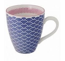 Mug Star Bleu Nuit ,Oriental sélection