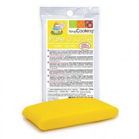 Pâte à sucre jaune 100g, Scrapcooking