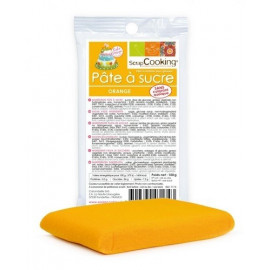 Pâte à sucre orange 100g, Scrapcooking