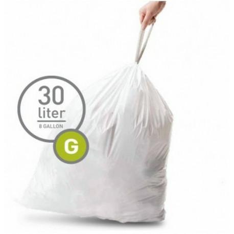 3 Packs de sacs poubelles G, Simplehuman