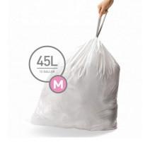 3 Packs de sacs poubelles M, Simplehuman