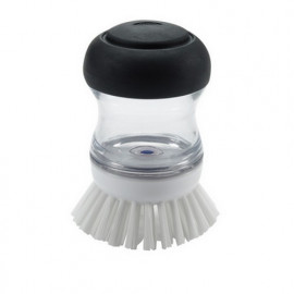 Brosse vaisselle ronde distributrice de savon, Oxo