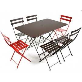 Table Bistro 117x77 cm pliante, Fermob
