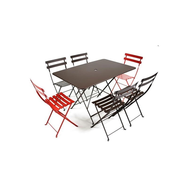 Acheter Table de bistro jardin 117x77cm fermob - Tables de jardin ...