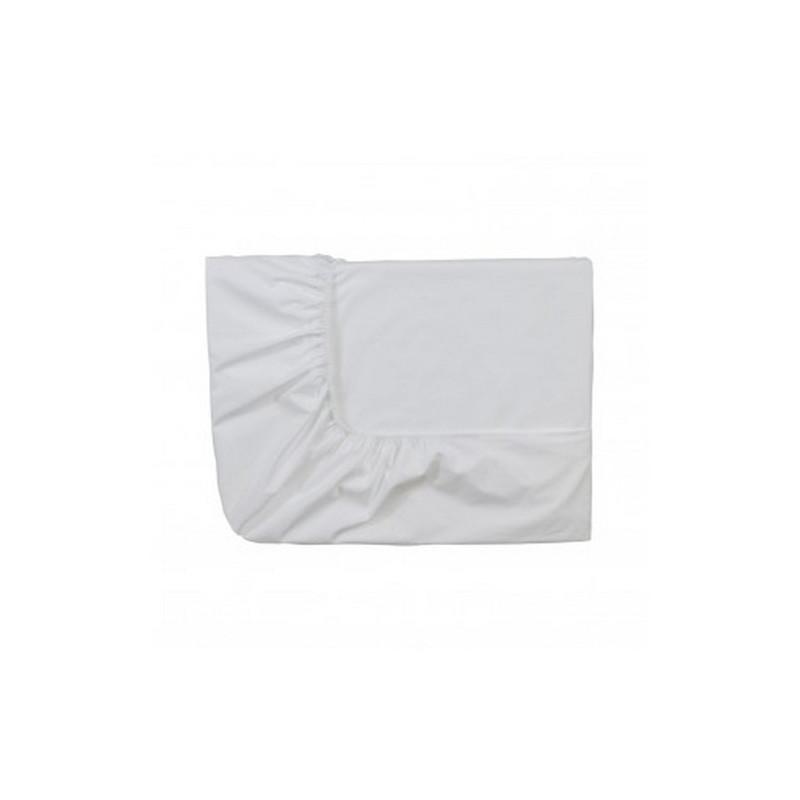acheter drap housse en percale blanc essix. Black Bedroom Furniture Sets. Home Design Ideas