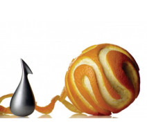 Épluche orange Apostrophe, Alessi