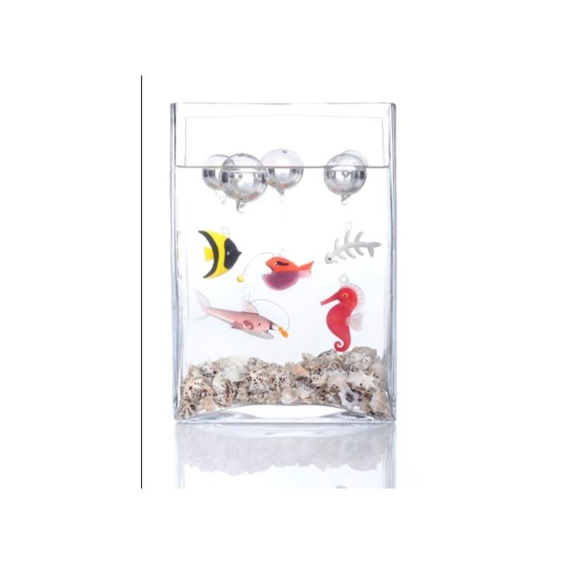 Achat vente animaux marins objets de d coration objets en for Decoration verre