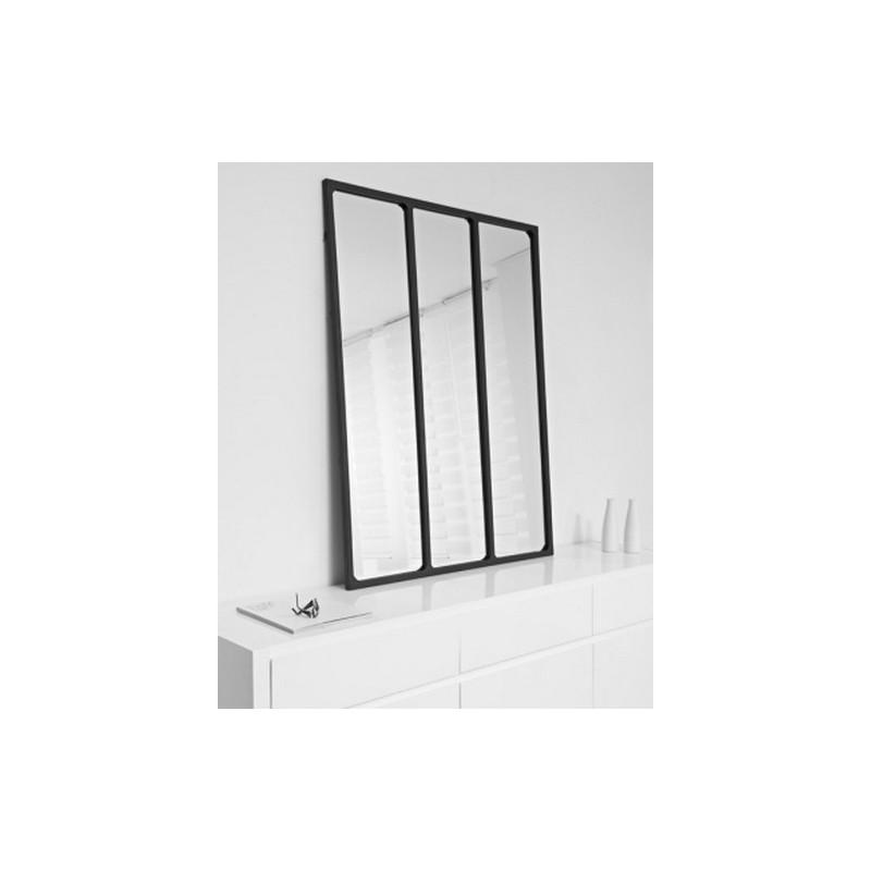 achat vente miroir mural miroir industriel accessoire de. Black Bedroom Furniture Sets. Home Design Ideas