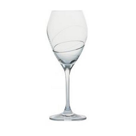 Verre à vin Silhouette gravé ,Bastide