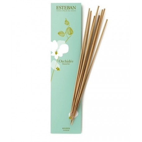 Encens Indiens Orchidée blanc, Esteban