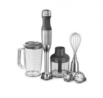 Coffret mixeur plongeant inox, KitchenAid