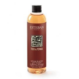 Recharge de parfum Teck & Tonka , Esteban