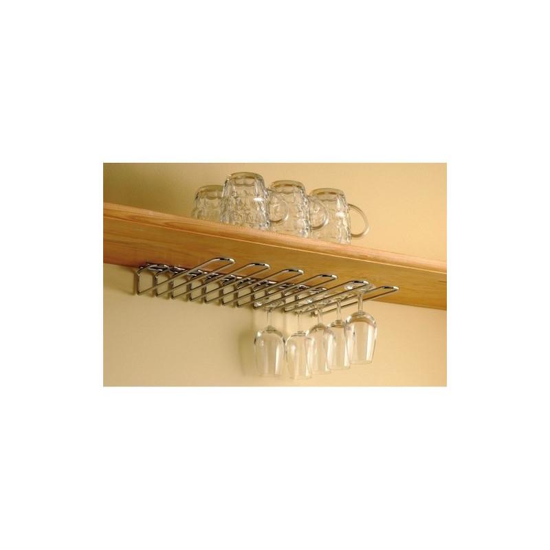acheter rack verres fixation mixte combrichon support verres rack verre suspendu. Black Bedroom Furniture Sets. Home Design Ideas