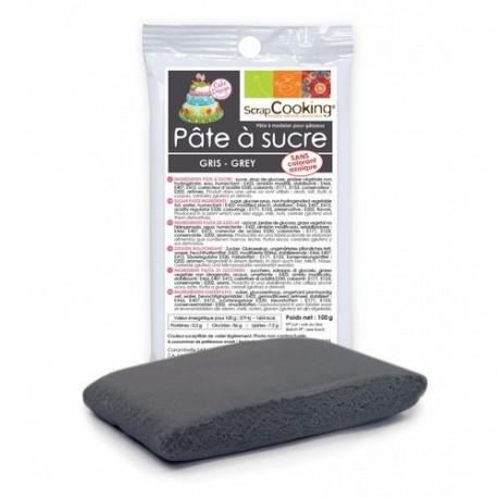 Pâte à sucre grise 100g, Scrapcooking