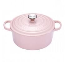 Cocotte ronde Chiffon Pink, Le Creuset