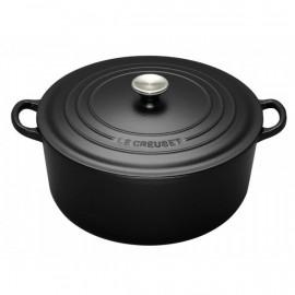Cocotte ronde Noire, Le Creuset