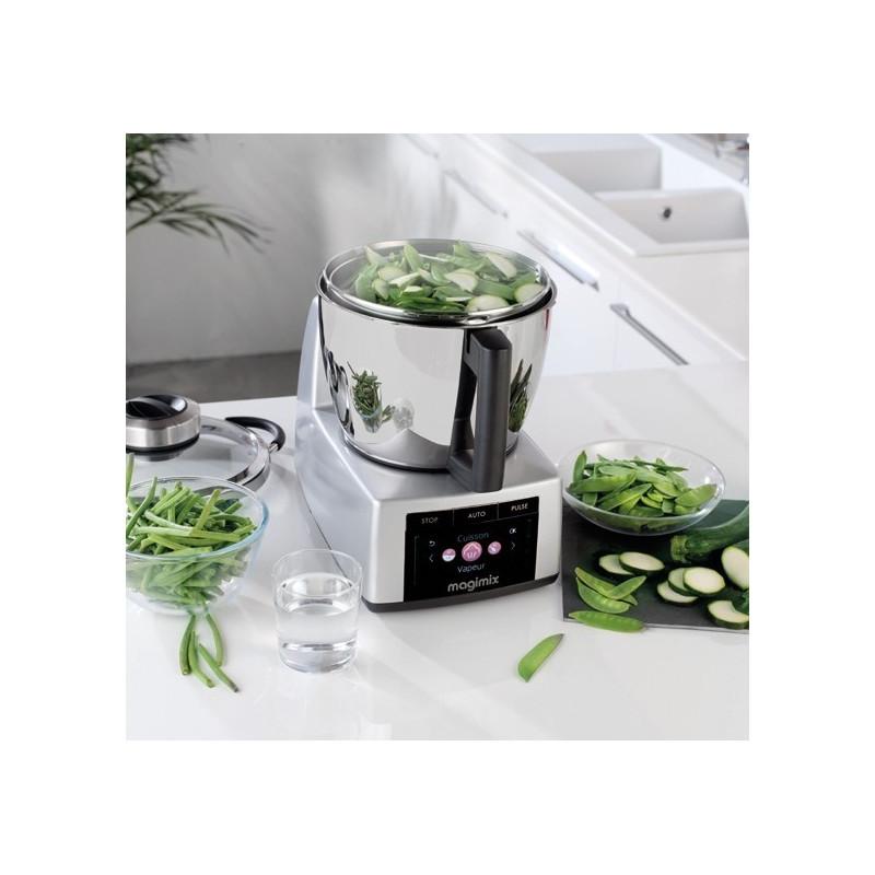 Acheter robot cuiseur cook expert chrome mat magimix robot chauffant fabriqu en france - Robot cuiseur magimix cook expert ...