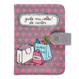 Porte-cartes Ma collec, Derrière la porte
