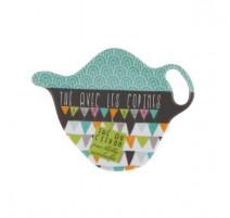 Repose sachet de thé acidulés, Derrière la porte