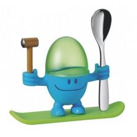 Coquetier Bleu Mister Egg , WMF