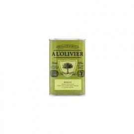 Huile d'olive Basilic, A L'OLIVIER