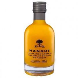 Vinaigre pulpe de Mangue, A L'OLIVIER