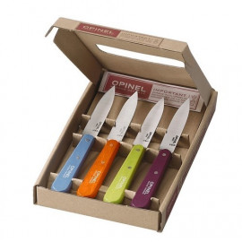 Coffret 4 couteaux d'office acidulés, Opinel
