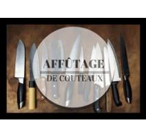 Affûtage de couteaux