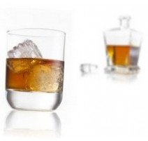 Verres whisky et porto