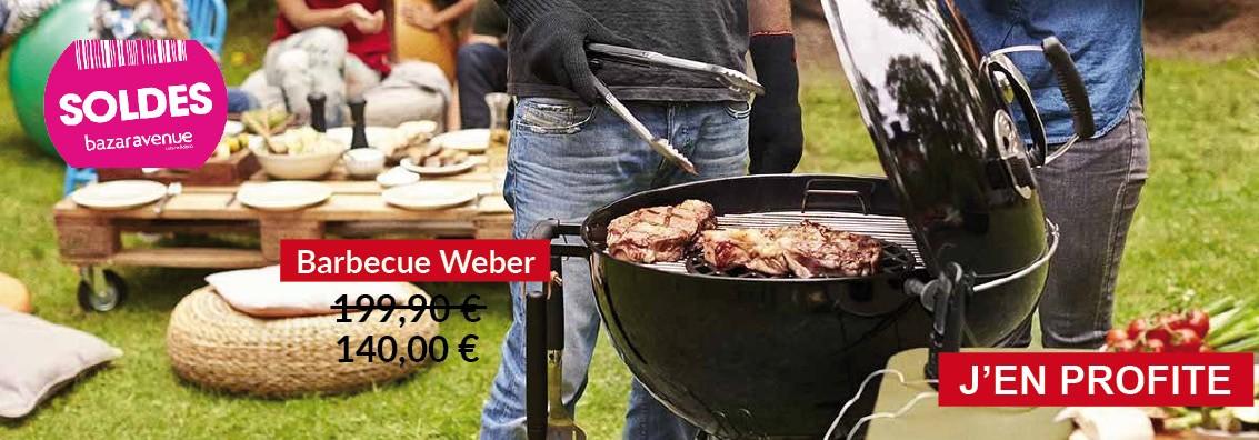 Soldes exceptionnelles sur le barbecue Weber !