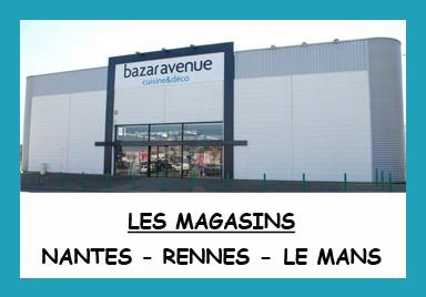 Les magasins Bazar Avenue